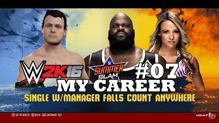 getlinkyoutube.com-AWESOME LIVE - WWE 2K16 MY CAREER #07| ME FODI !