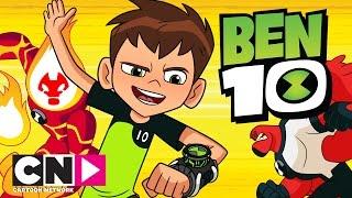 getlinkyoutube.com-Ben 10 | Meet The Aliens | Cartoon Network