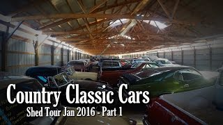 getlinkyoutube.com-Country Classic Cars Shed Tour Jan 2016 - Part 1
