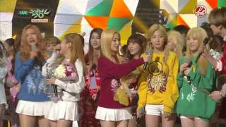 [ForVelvetSubs] 150327 KBS Music Bank - Ice Cream Cake 1st Win