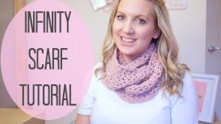 getlinkyoutube.com-CROCHET: Infinity scarf tutorial   Bella Coco