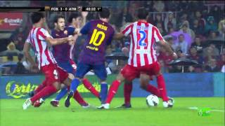 getlinkyoutube.com-FC Barcelona 5-0 Atlético Madrid - Highlights 24/09/2011.mp4