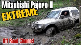 getlinkyoutube.com-Mitsubishi Pajero II Off-road Extreme Compilation