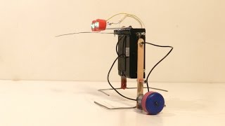 getlinkyoutube.com-How To Make a Simple Walking Robot That Can Avoid Obstacles