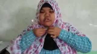 getlinkyoutube.com-[[Baru]]  Tutorial Hijab Pashmina Wajah Bulat