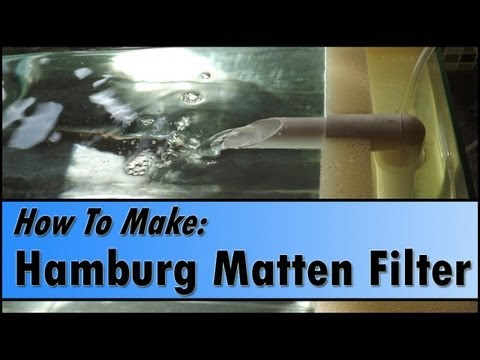 How To Make a Basic HMF (Hamburg Matten Filter) for Shrimp Tanks
