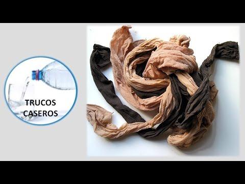 Trucos caseros con las medias de nylon - Como reutilizar unas medias rotas o viejas.