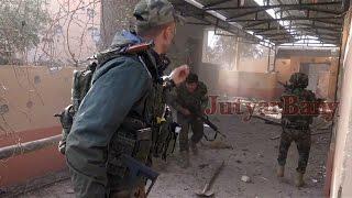 getlinkyoutube.com-Urban warfare in Bashiqa: Kurds capture ISIS jihadist, suicide belt detonates [08.11.2016]
