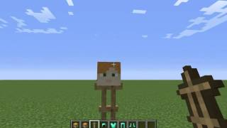 getlinkyoutube.com-minecraft วิธีทำหัว skin 1.8