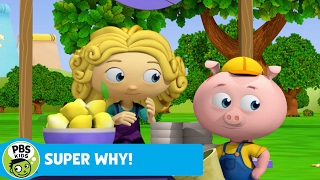 SUPER WHY!   Pig Searches for His Lemons   PBS KIDS
