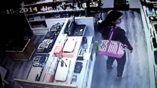 Pencurian ggaL trekam cctv dn Kpergok Karyawan