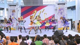getlinkyoutube.com-[V-Project] No Brand Girls - Wing Stage 27 with LoveLive! Only in Taiwan 150705