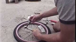 getlinkyoutube.com-How To Make A Banding Wheel From Spare Parts
