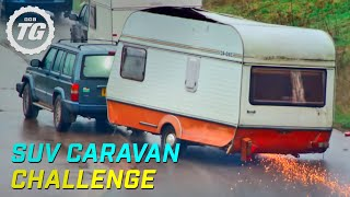 getlinkyoutube.com-SUV Caravan Challenge - Top Gear - Series 22 - BBC