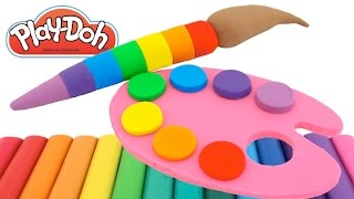 getlinkyoutube.com-Best Learning Colors Video for Children Play Doh Paint Ice Cream Compilation RL