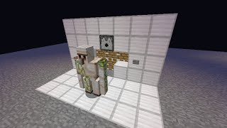 getlinkyoutube.com-Minecraft 超簡単シンプル!緊急用ゴーレムメーカー