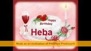 getlinkyoutube.com-كل سنه وانتى طيبه حبيبتى وعقبال 100 سنه يا (هبه Happy Birthday Heba