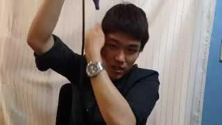 getlinkyoutube.com-남자 왁스바르는법,남자 드라이하는법 입니다.