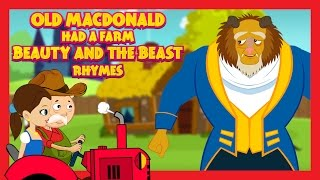 getlinkyoutube.com-Old MacDonald Had A Farm - BEAUTY AND THE BEAST VERSION || Kids Rhymes - English Rhymes For Children