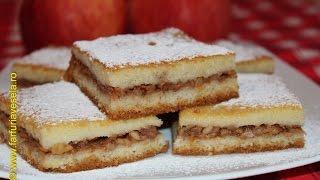 getlinkyoutube.com-Prajitura turnata cu mere