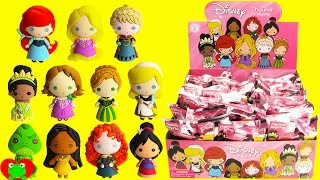 getlinkyoutube.com-Disney Princess Figural Keyrings