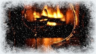 getlinkyoutube.com-❅ Cosy Winter Fire and Whistling Wind
