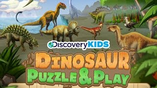 getlinkyoutube.com-Discovery Kids Dinosaur Puzzles and Play | Educational Puzzle App for Kids