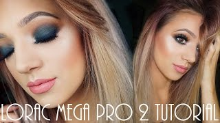 getlinkyoutube.com-Lorac Mega Pro 2 Matte Green Smokey Tutorial