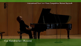 getlinkyoutube.com-Ilya Kondratiev plays Liszt: Fantasy and Fugue on the Theme B-A-C-H - Piano Competition 2nd Round