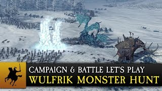 Total War: WARHAMMER - Wulfrik Monster Hunt Játékmenet