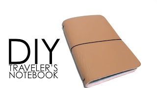 getlinkyoutube.com-DIY - Traveler's Notebook