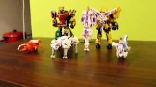 getlinkyoutube.com-Samurai Sentai Shinkenger Candy Toy Dai Shinken Oh Combination