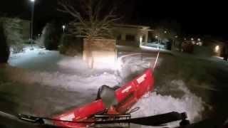getlinkyoutube.com-UTV Plowing Snow Gator 825i Boss Plow