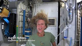 getlinkyoutube.com-Astronaut Tips: How to Wash Your Hair in Space | Video