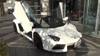 getlinkyoutube.com-ランボルギーニ・アヴェンタドールLP700-4 ロードスター 中古車試乗インプレッション Lamborghini Aventador Roadster
