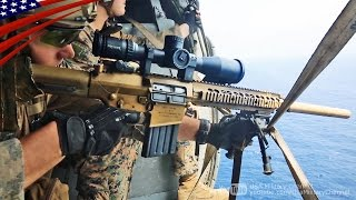 getlinkyoutube.com-ヘリから空中狙撃!米海兵隊スカウト・スナイパー(前哨狙撃兵) - Aerial Snipe on Helicopter by US Marines Scout Sniper