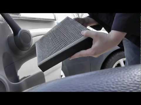Замена салонного фильтра в Honda CR-V