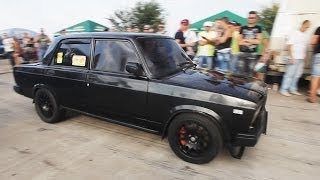 "getlinkyoutube.com-ВАЗ 2107 Турбо 300+ л.с. Тюнинг: ""Amag"" (гонки на кубок Турбофлай)"