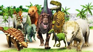 Dino Digger (18 Dinosaurs) - Archaeologist Jurassic | Eftsei Gaming