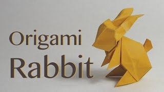 Easter Origami Tutorial: Paper Rabbit / Bunny (Jun Maekawa)