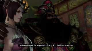 getlinkyoutube.com-Dynasty Warriors 8: Xtreme Legends - All Lu Bu's Cutscenes in English Translated Subtitles (Part 1)