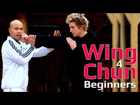 Wing Chun for beginner lesson 14: basic hand exercise/ block a straight punch on outside of the arm
