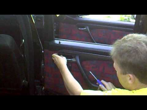 Демонтаж катры дверей Mercedes-Benz W202.mp4