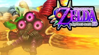 The Legend of Zelda Majora's Mask 3DS Gameplay Walkthrough TWINMOLD Boss Fight Giant's Mask PART 27
