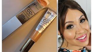 getlinkyoutube.com-IT Cosmetics CC Cream Review