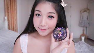 getlinkyoutube.com-[How to] Peachy blooming แต่งหน้าหวานแบบคุมมัน with Srichand Translucent Powder