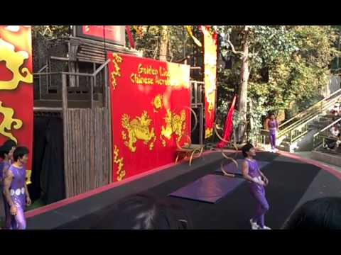 China Male Acrobats