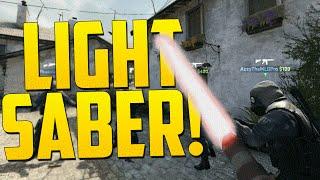 getlinkyoutube.com-LIGHTSABER! - CS GO Funny Moments in Competitive