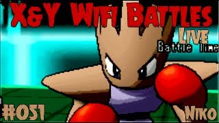 getlinkyoutube.com-Pokemon X and Y Wifi Battle #051 (FaceCam Live) Vs. Niko - Megaless Monday Madness