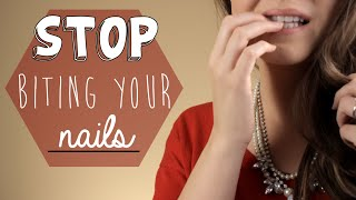 5 Ways to Stop Biting Your Nails! width=